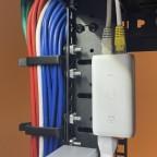 Netzwerk Kabel führung & PoE Injektor