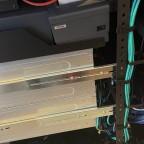 Server Einbauschienen / Weil zu kurz nochmal ne Rackschiene innen Montiert