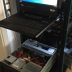 Neueinrichtung und Hardware Konfiguration der Server