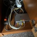US-8 Switch bei de Oma im Wohnzimmer